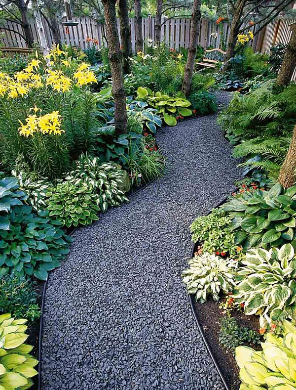 12. Semi Crushed Gravel For A Clean Effect