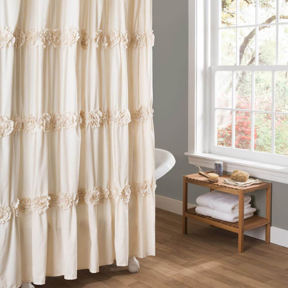 Shabby Chic Bathroom Curtain Ideas : Best shabby chic bathroom ideas and designs for