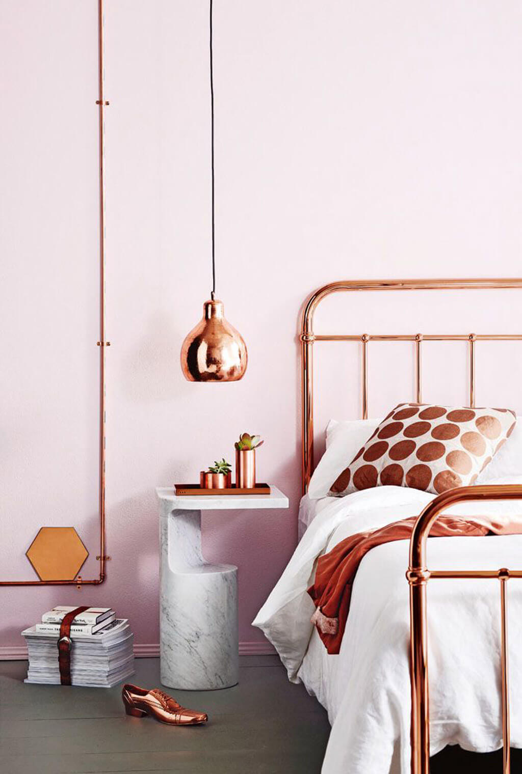 23 Best Copper and Blush Home Decor Ideas and Designs for 2020