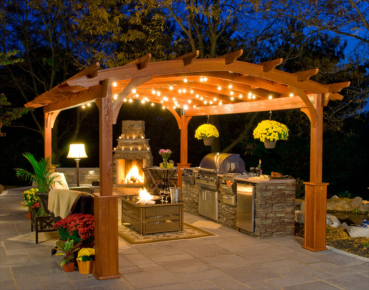 17 Functional and Practical Outdoor Kitchen Design Ideas - Style ...