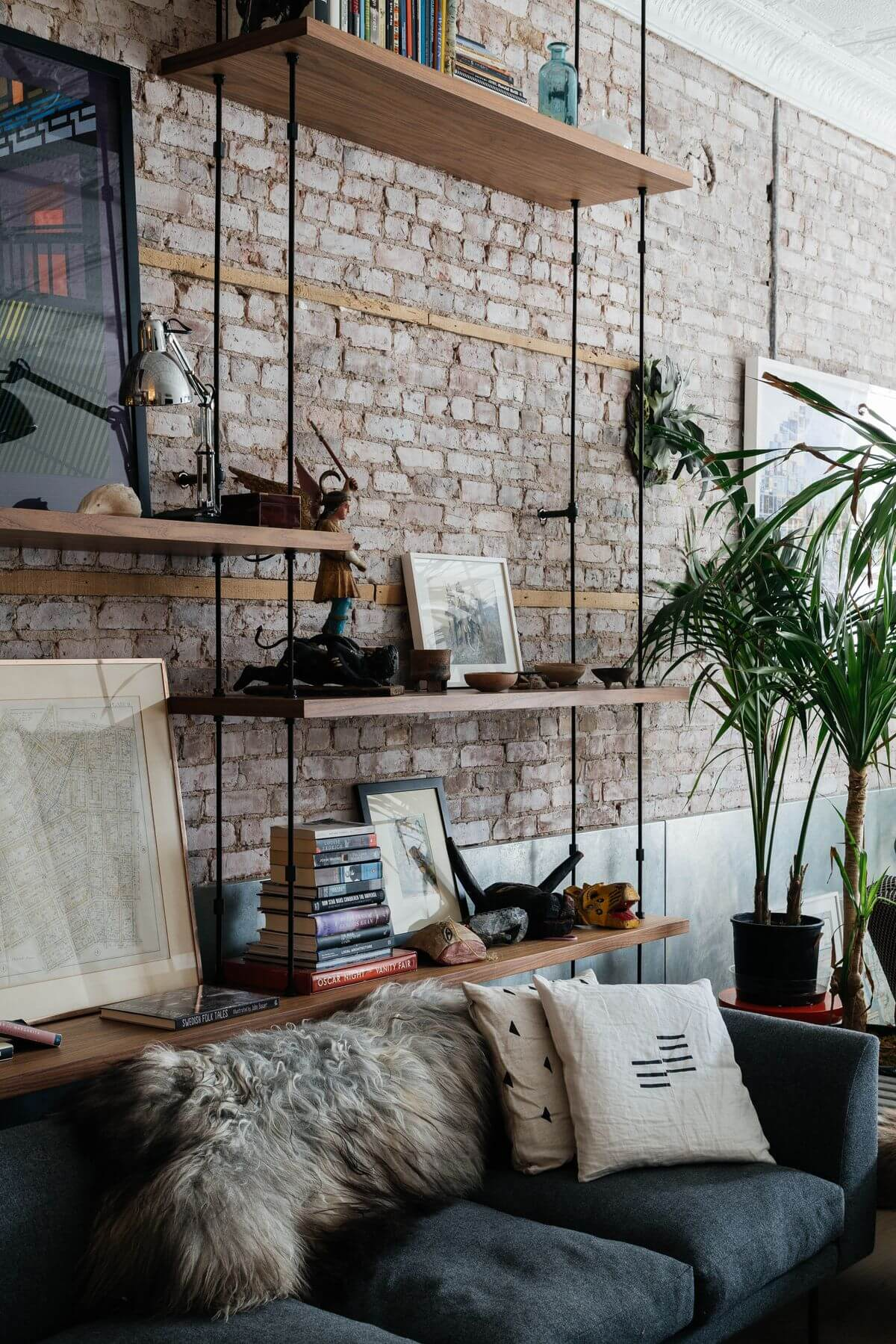 City Factory Suspended Sofa Shelving Unit