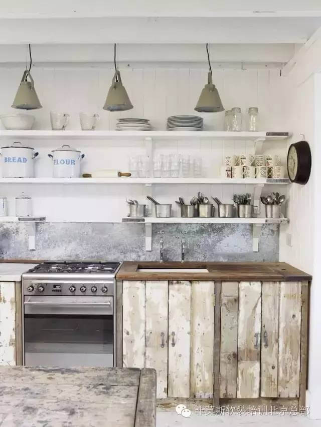 Scandinavian Sea Cottage Kitchen