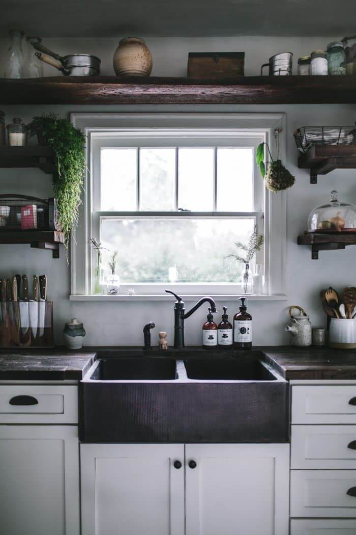 Hudson Valley Style Rustic Kitchen
