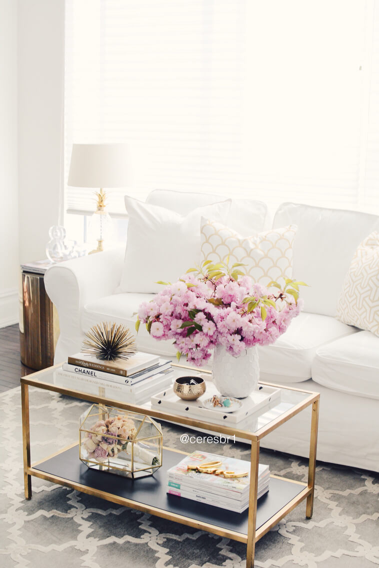 Decorate with style chic coffee table decor ideas