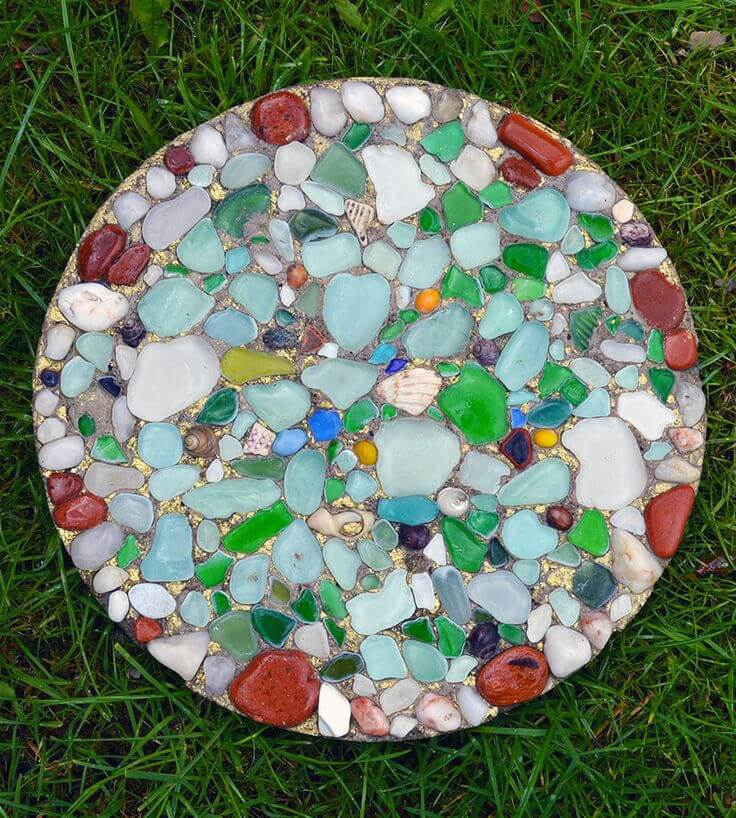 23 best diy garden ideas and designs with rocks for 2017 for Diy garden stepping stones