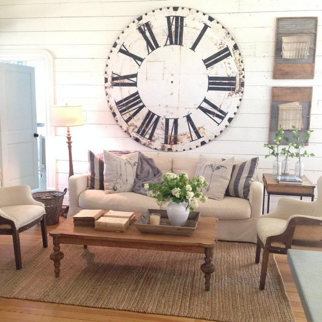 Timeless Traveler Oversized Clock Display