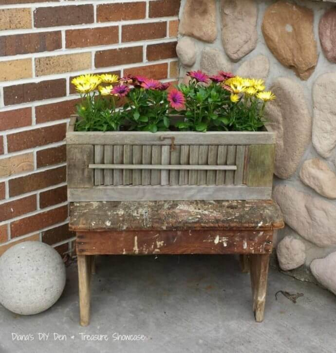 DIY Window Planter Box