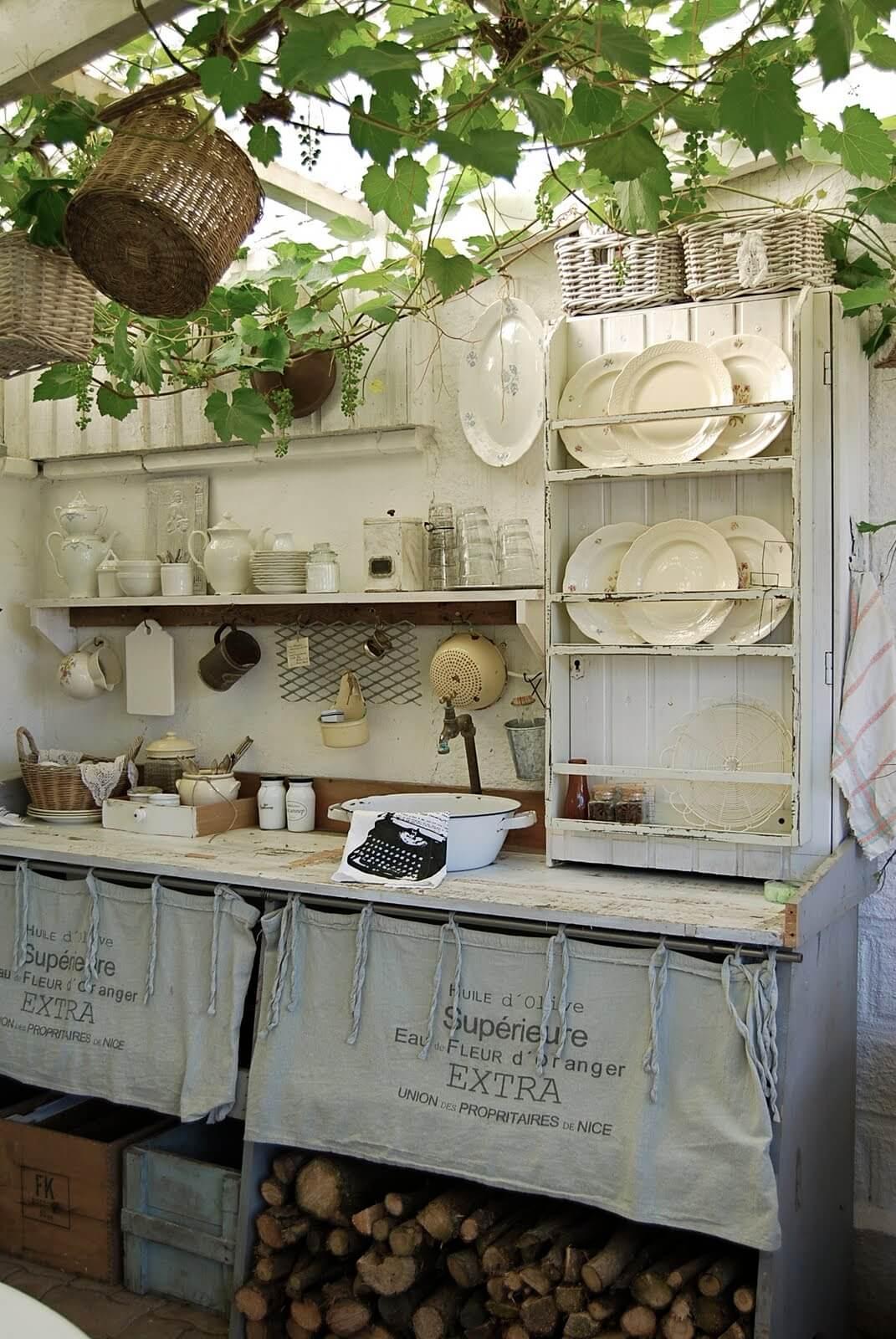 27 best outdoor kitchen ideas and designs for 2018 - Cocinas estilo shabby chic ...