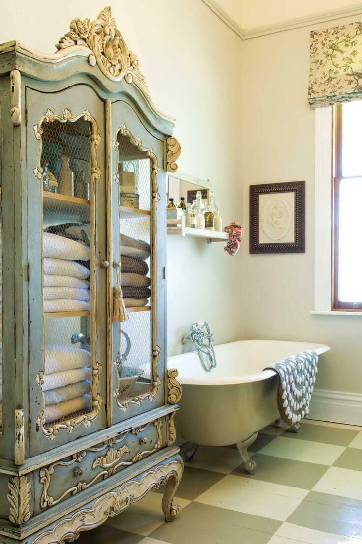28 Best Shabby Chic Bathroom Ideas And Designs For 2020