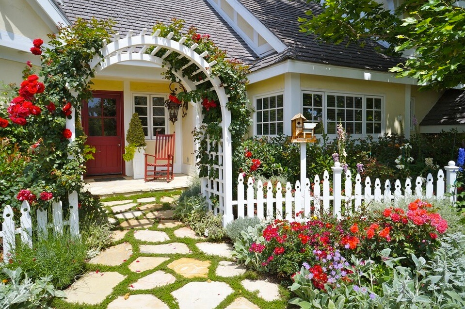 Enchanting Rose Arbor