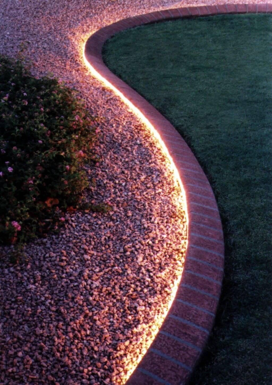 flower bed lighting. Discreet Flower Bed Lighting I
