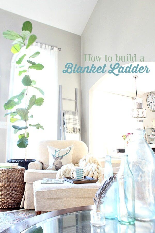 Build Your Own Blanket Ladder
