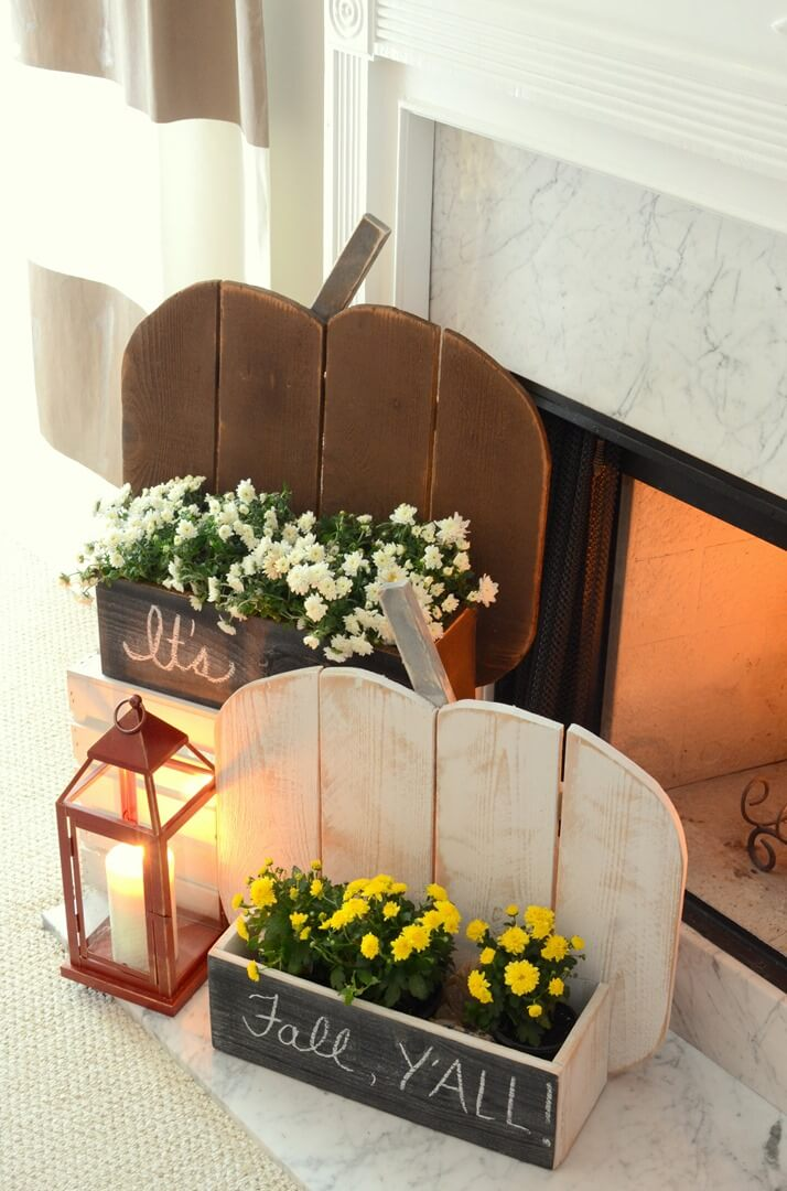 Rustic Hearthside Plant Holders
