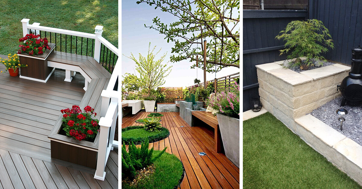 33 Best Built In Planter Ideas And Designs For 2021