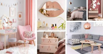 Copper and Blush Home Decor Designs