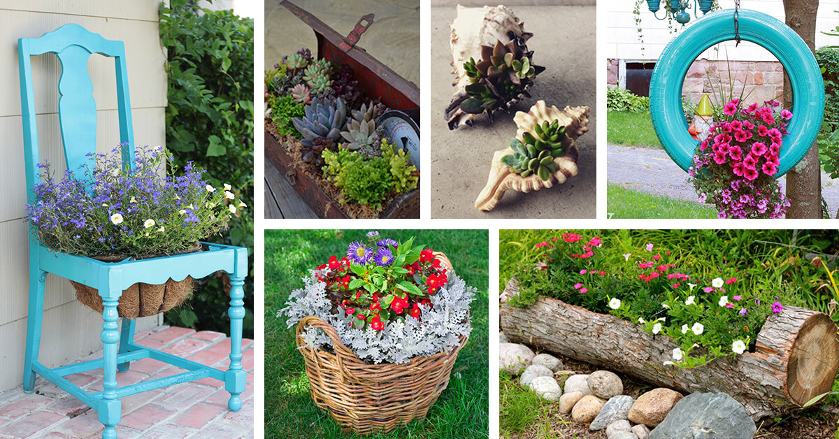 39 Best Creative Garden Container Ideas And Designs For 2020