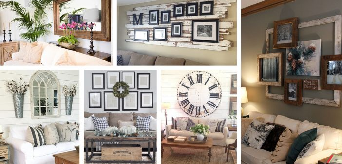 30 best decoration ideas above the sofa for 2018