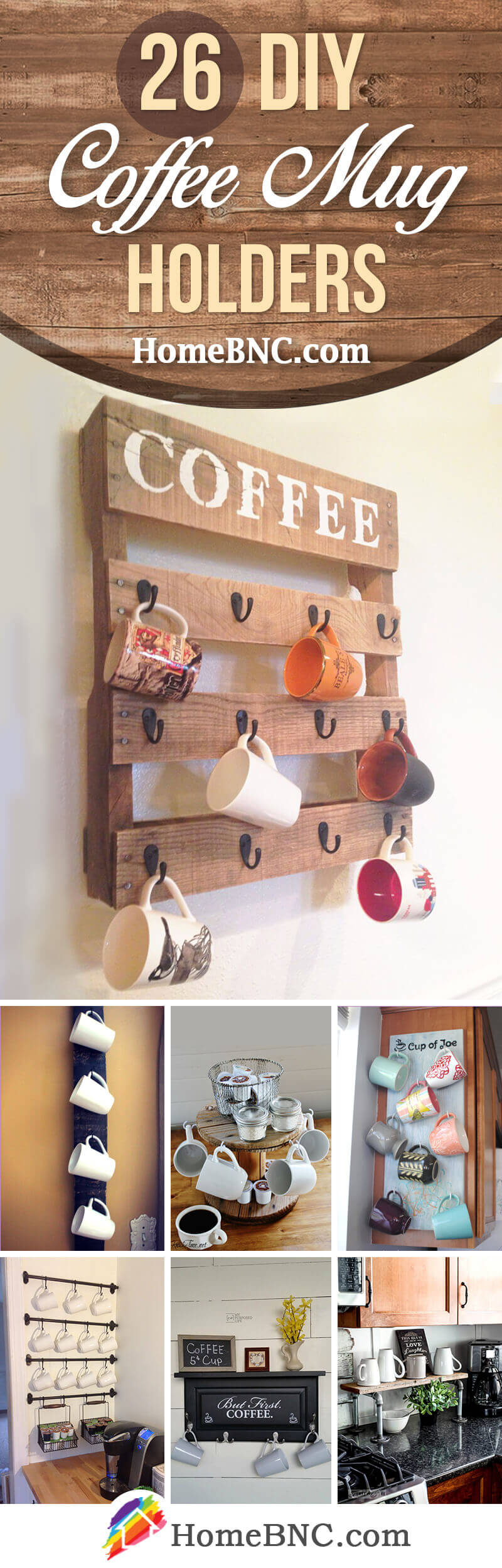 26 Best Diy Coffee Mug Holder Ideas And