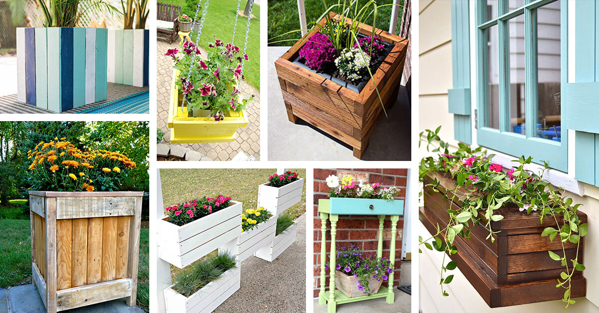 32 Best DIY Pallet and Wood Planter Box Ideas and Designs for 2018 Wooden Pallet Planter Box on wooden pallet shadow box, diy planters box, diy pallet box, pallet garden box, cardboard planter box, old pallet planter box, wooden pyramid planter diy, wooden car planter box, wooden garden planter box, wooden pallet storage box, plywood planter box, timber planter box, crate planter box, glass planter box, wooden pallet flower planter, wooden window planter box,