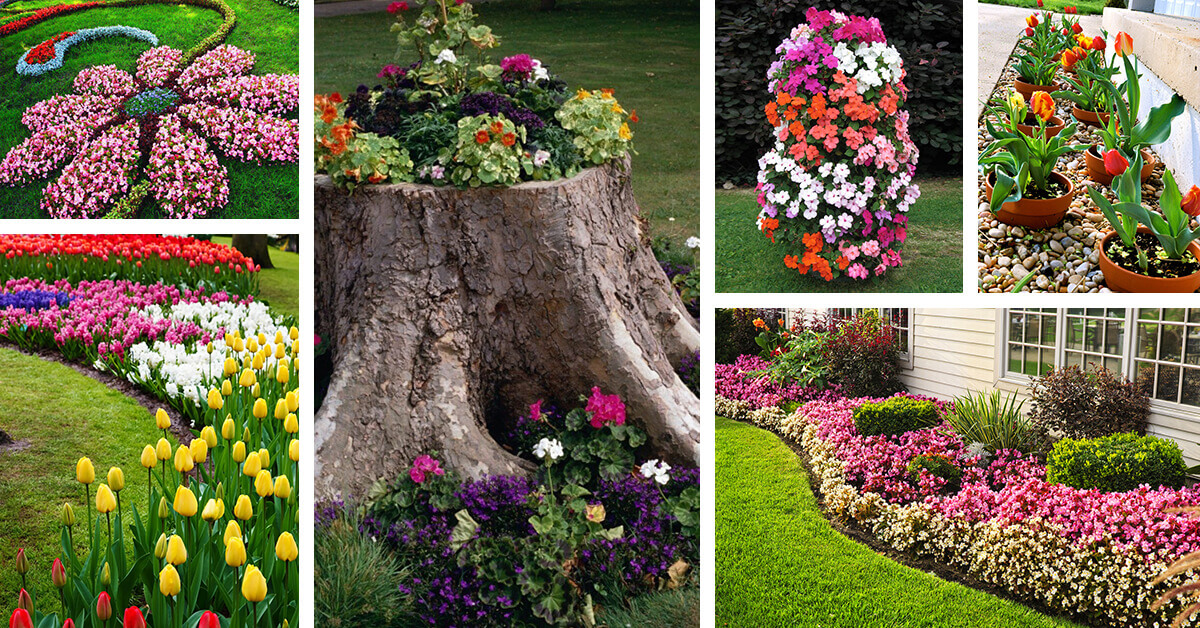 27 Best Flower Bed Ideas (Decorations and Designs) for 2020