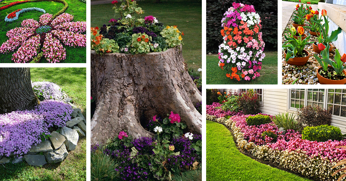 27 Best Flower Bed Ideas (Decorations and Designs) for 2017 on Flower Bed Ideas Backyard id=12130