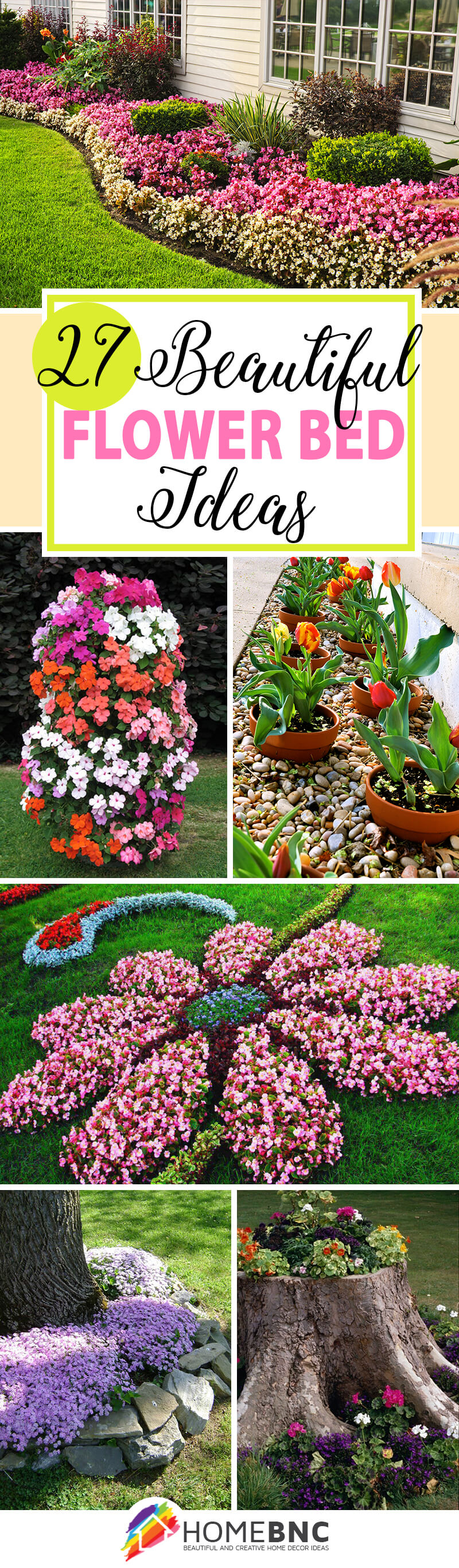 27 best flower bed ideas decorations and designs for 2018 for Different garden designs