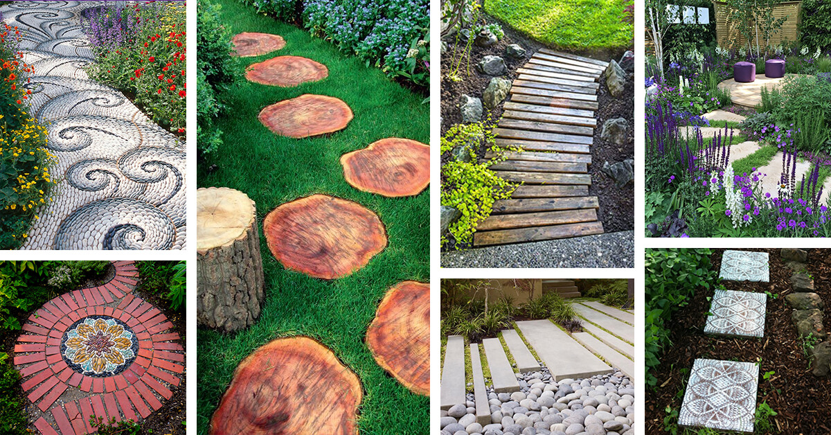 25 Best Garden Path And Walkway Ideas And Designs For 2020