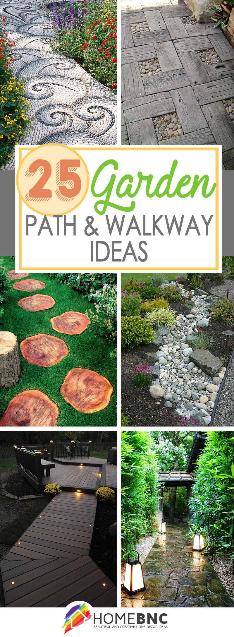 25 best garden path and walkway ideas and designs for 2017 for Garden path ideas