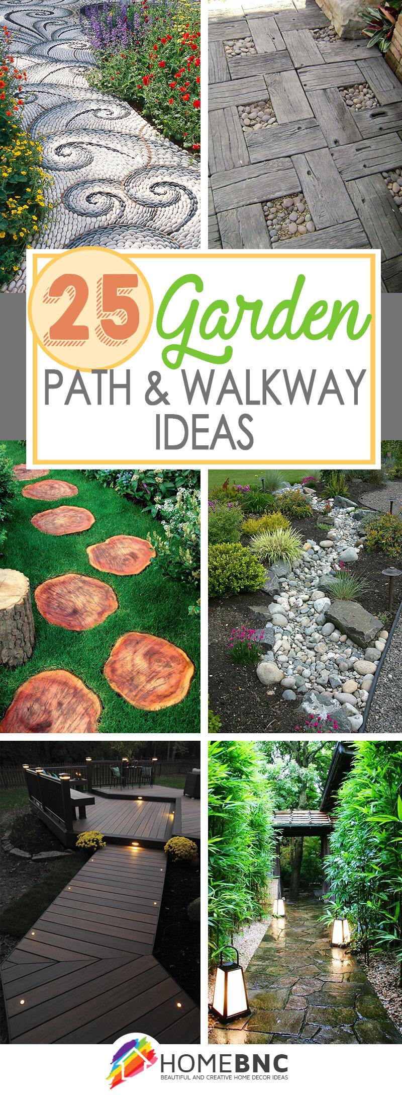 Garden Path and Walkway Designs