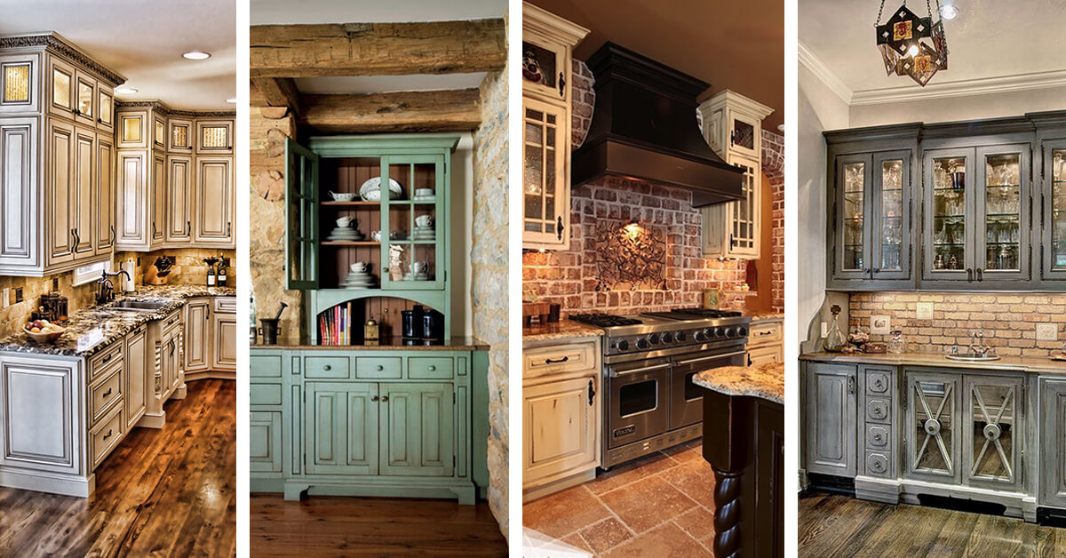 10 Kitchen Cabinet Tips: 27 Best Rustic Kitchen Cabinet Ideas And Designs For 2019