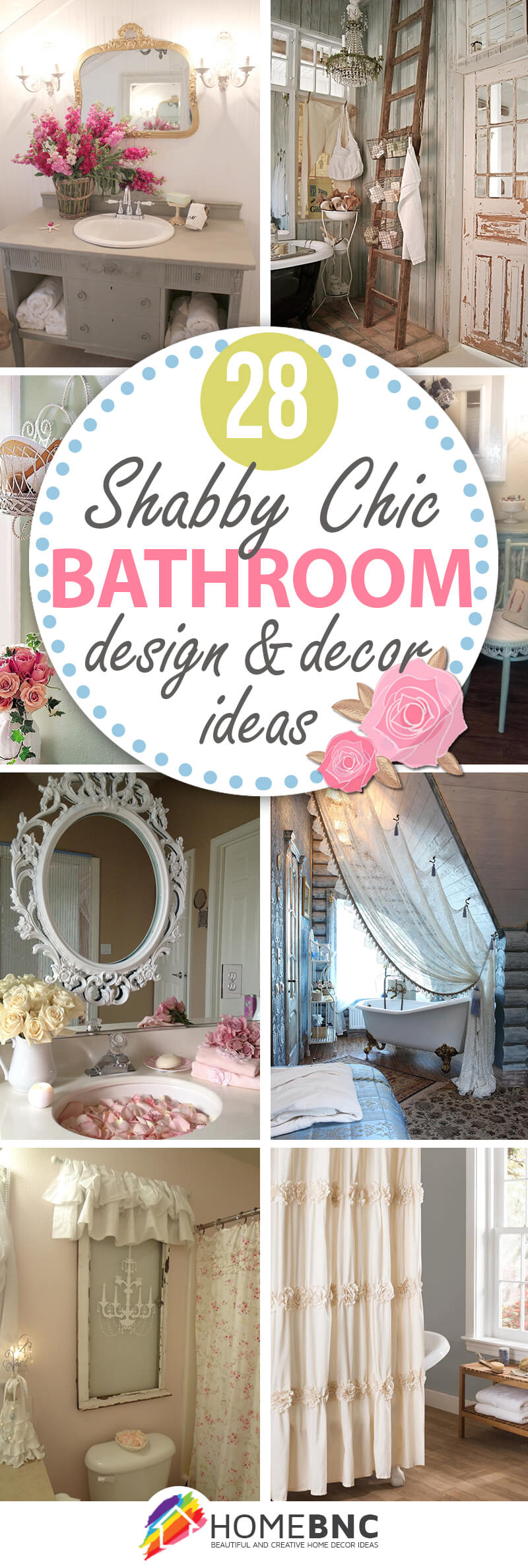28 Wonderful Shabby Chic Bathroom D Cor Ideas You Will Love
