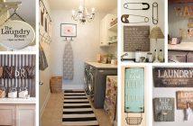 Vintage Laundry Room Decor Ideas