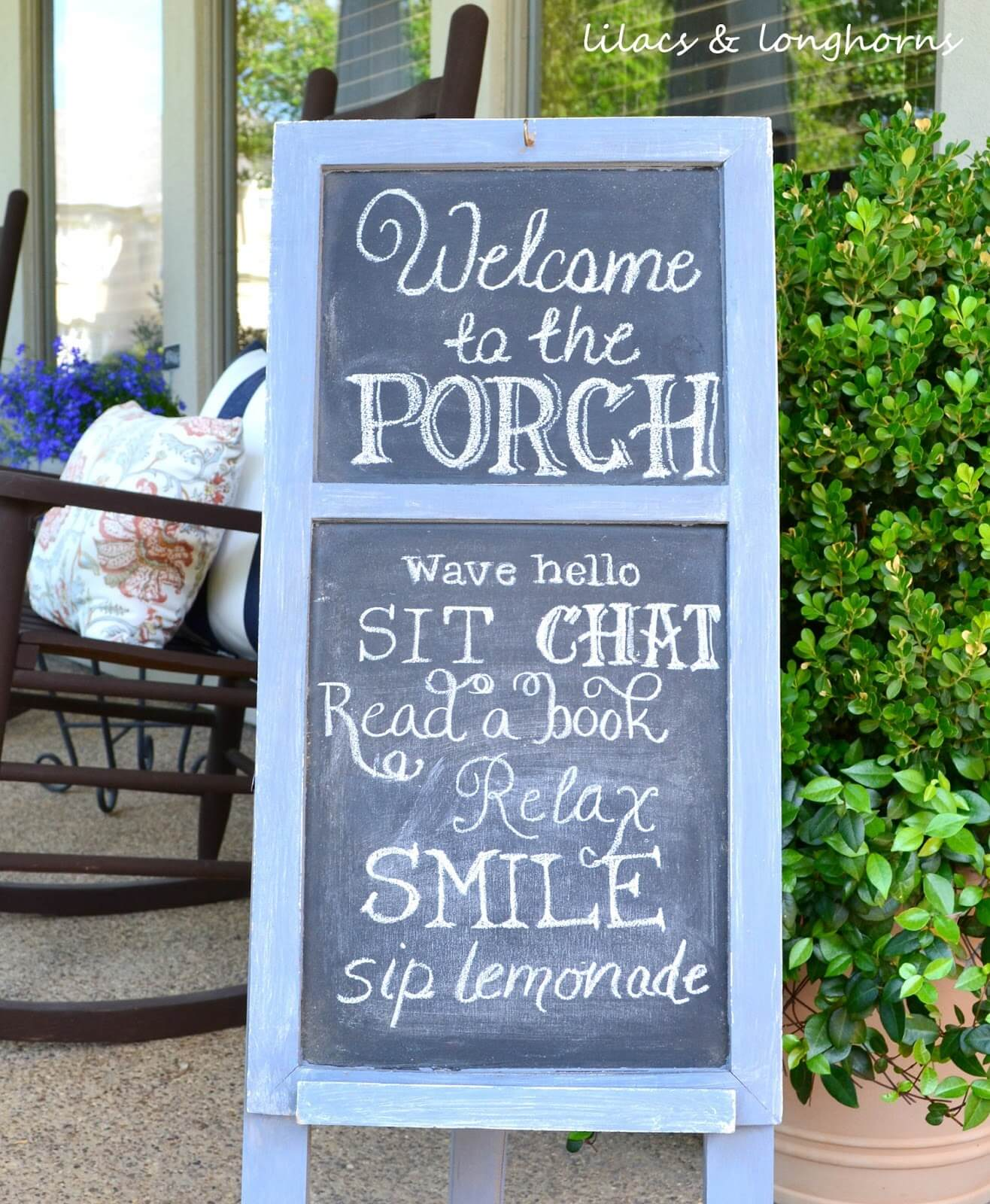 30 Best Front Porch Sign Designs And Diy Ideas For 2018 Recycled Circuit Board Picture Frame Craft Pinterest Chalkboard A Rules