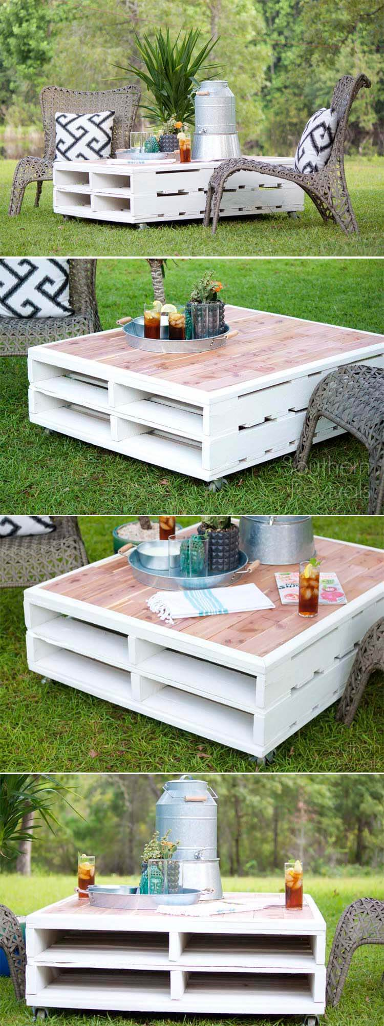 27 Best Outdoor Pallet Furniture Ideas and Designs for 2021 on Pallets Design Ideas  id=17075