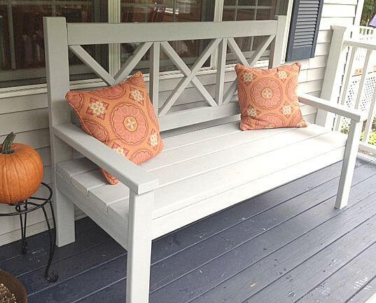 Farm-Style Contemporary Bench