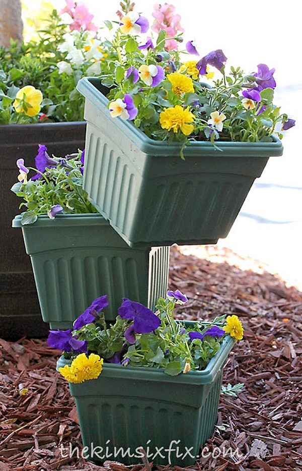 How'd They Do That? Balanced Planters