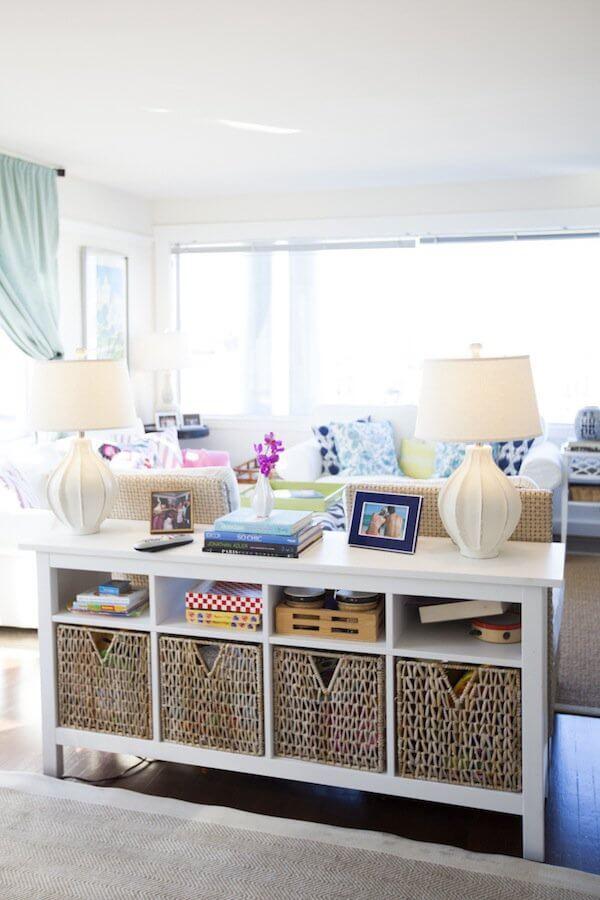 Ever-The-Organizer Sofa Table