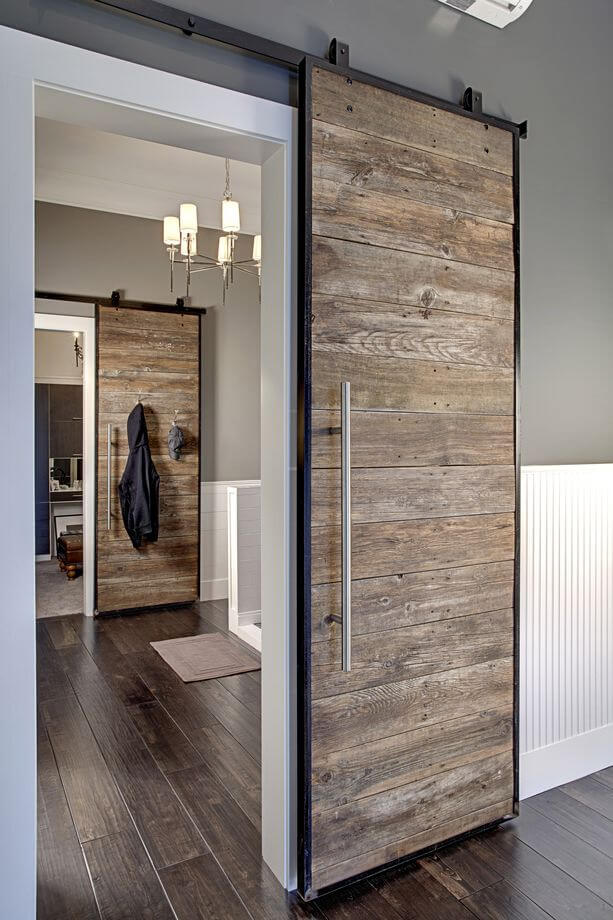 29 best sliding barn door ideas and designs for 2018 pacific driftwood sliding wood doors planetlyrics Gallery