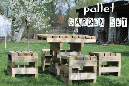 14 Amazing DIY Pallet Furniture For Practical Outdoor Patio