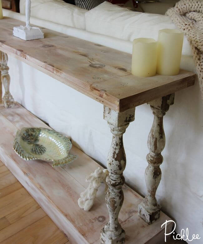 Melville Estate Style Sofa Table