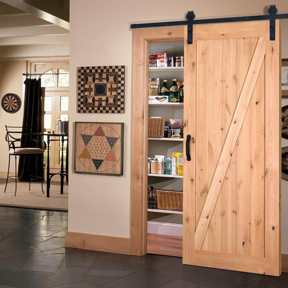 Simply Southwestern Wooden Pantry Door