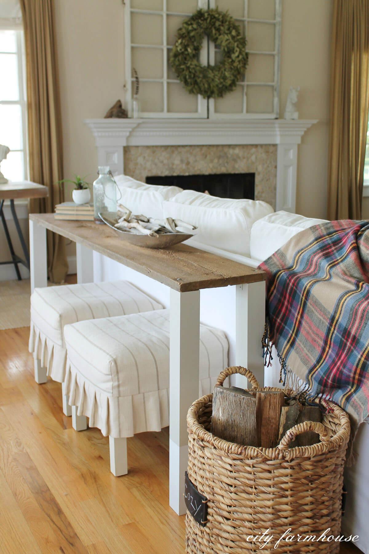 Hampton Simplicity Sofa Table