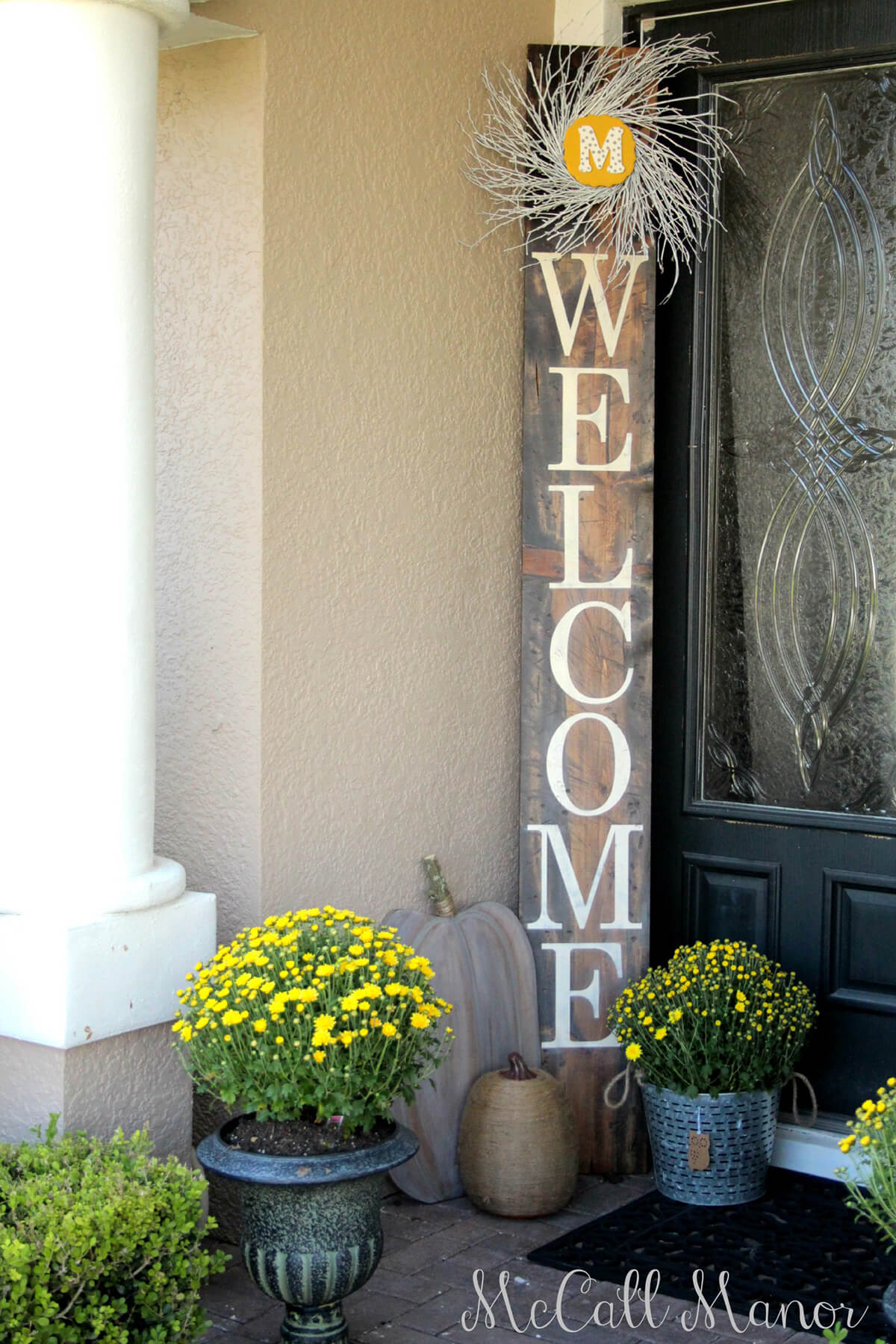 15 Amazing DIY Welcome Signs for Your Front Porch