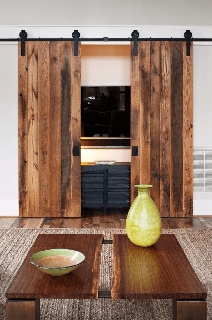 Big Sur View Wooden Doors