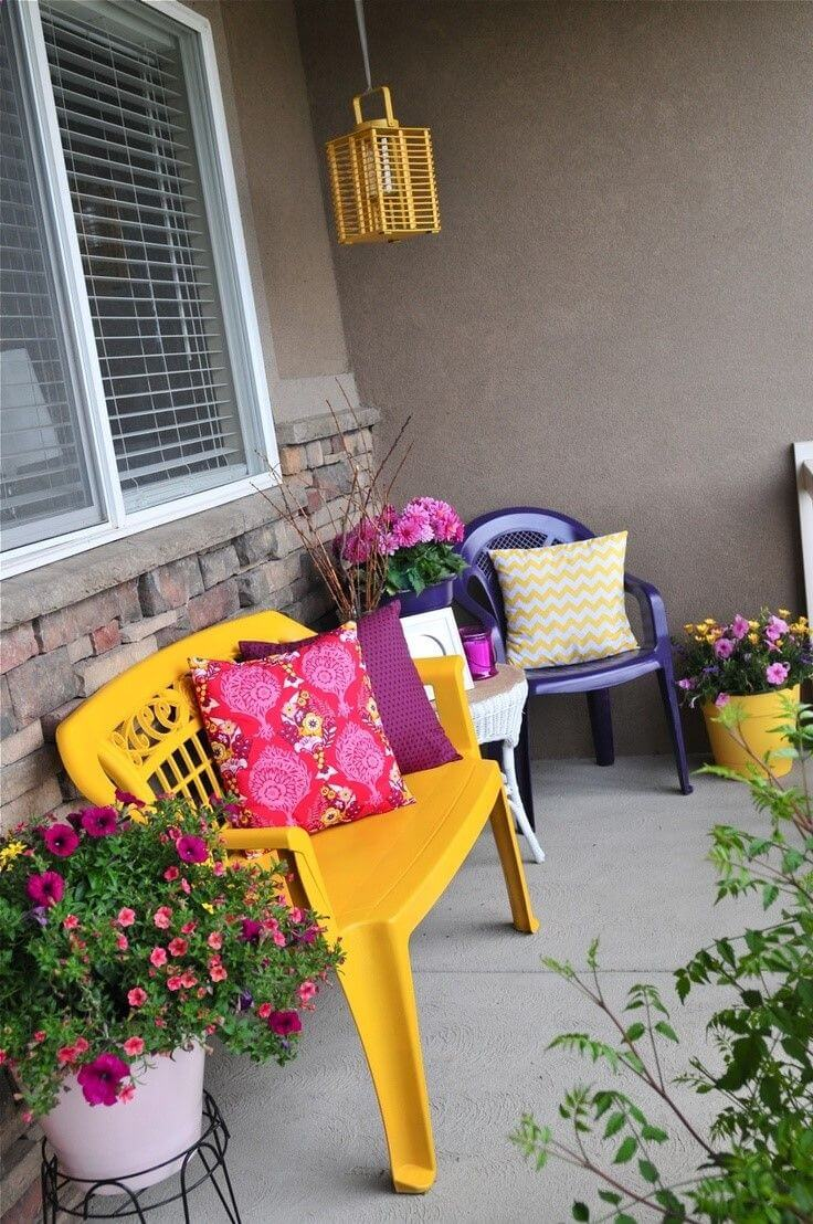 Make Your Patio Pop with DIY Spray Paint Makeovers