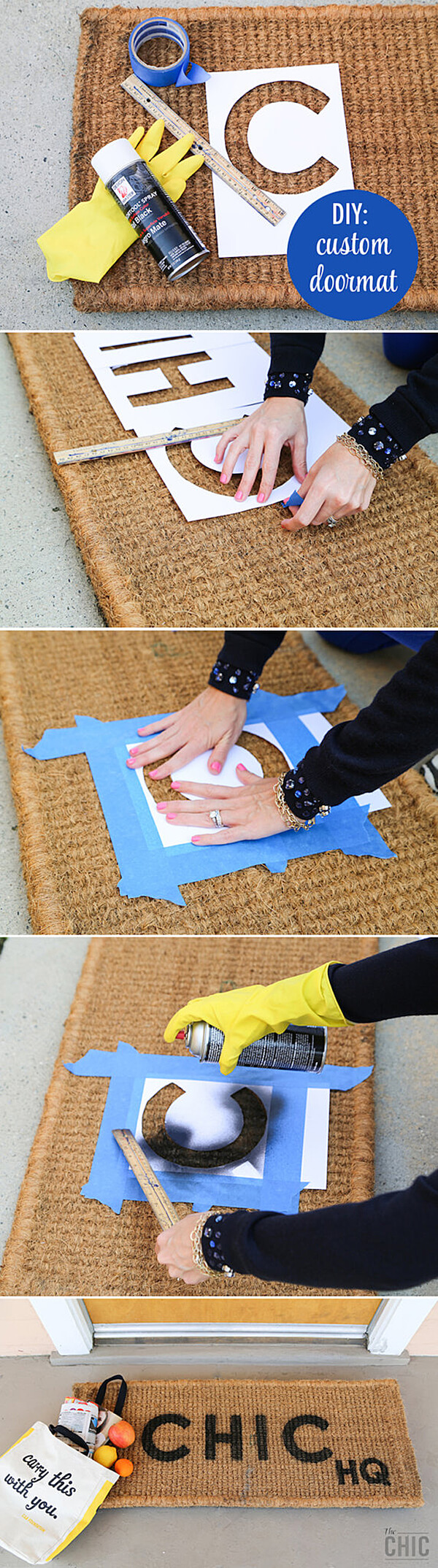 Personalized Welcome Mats Without the Cost