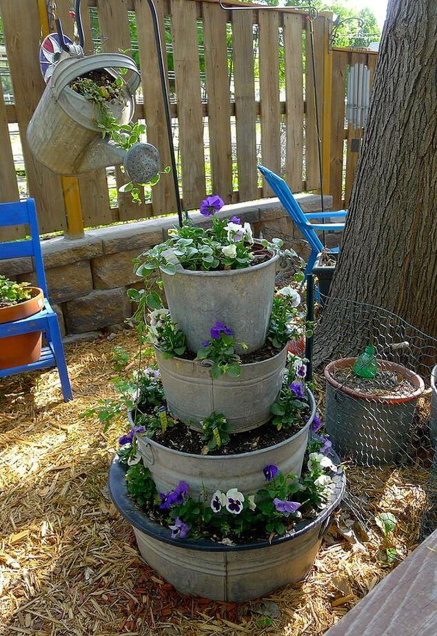 21 Best Diy Flower Tower Ideas And Designs For 2018