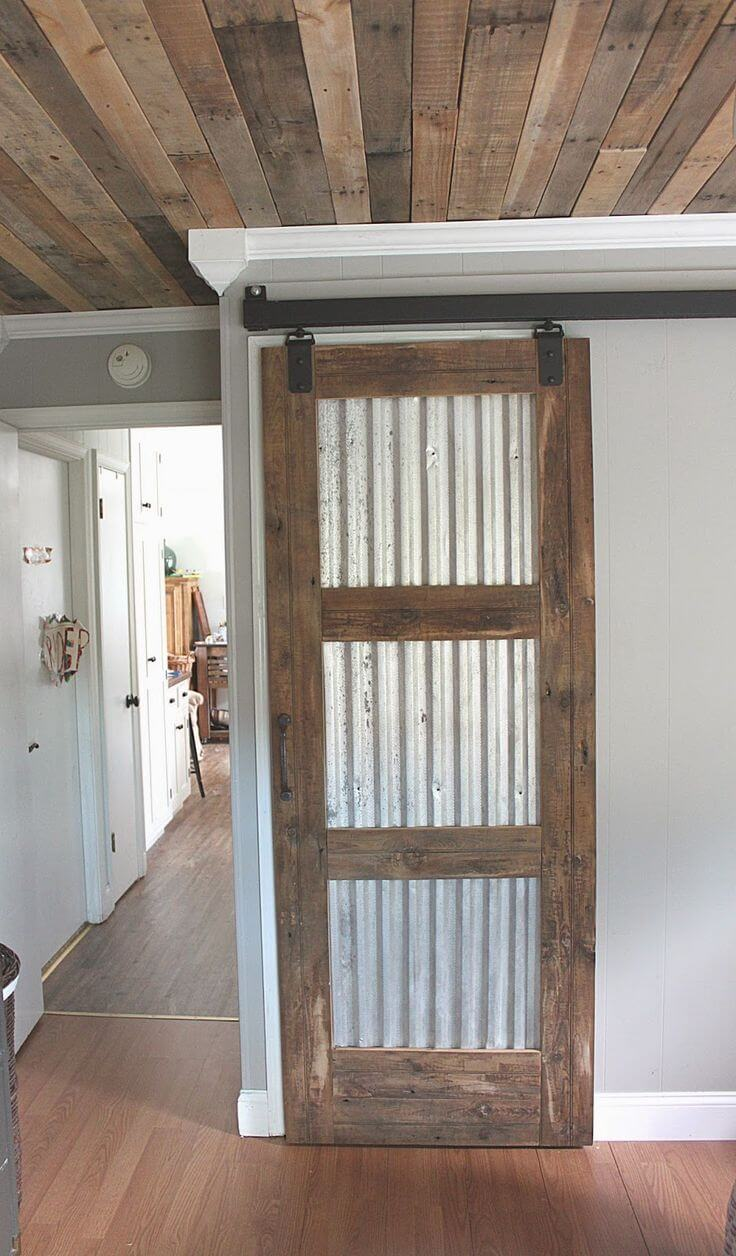 General Store Style Sliding Doors
