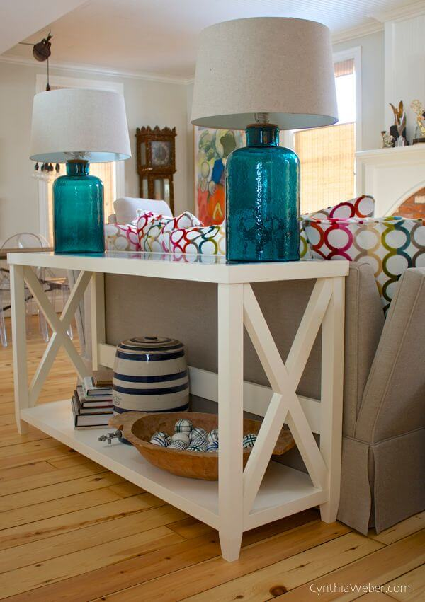 25 Best Sofa Table Ideas and Designs for 2018