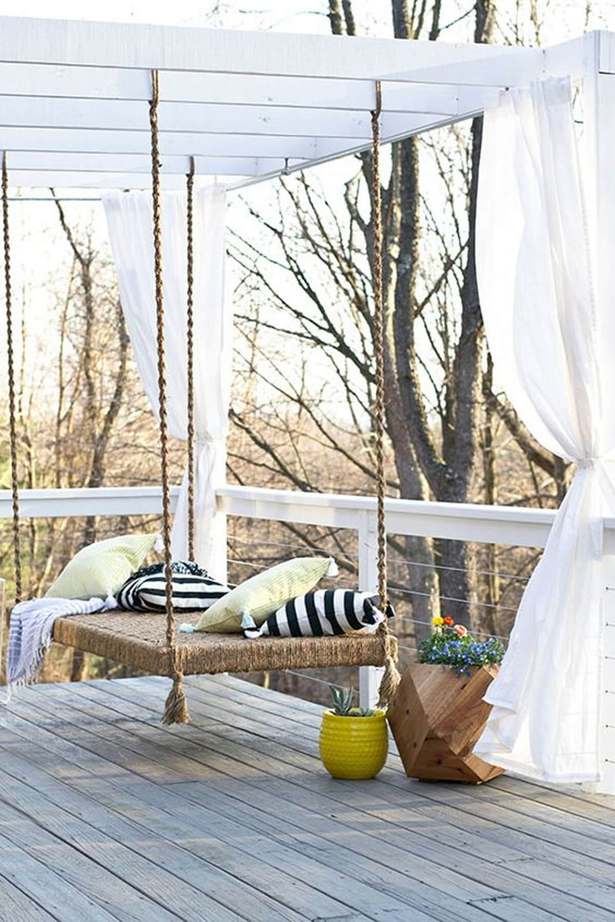 Best Diy Porch Swing Bed Ideas And Designs For